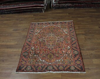 Nice Handmade S Antique Foyer Size Goravan Persian Rug Oriental Area Carpet 5X6