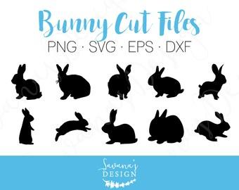 Bunny SVG, Bunny DXF, Rabbit SVG, Rabbit Dxf, Hare Svg, Easter Svg, Easter Bunny Svg, Easter Rabbit Svg, Svg Files for Cricut, Cricut Svg