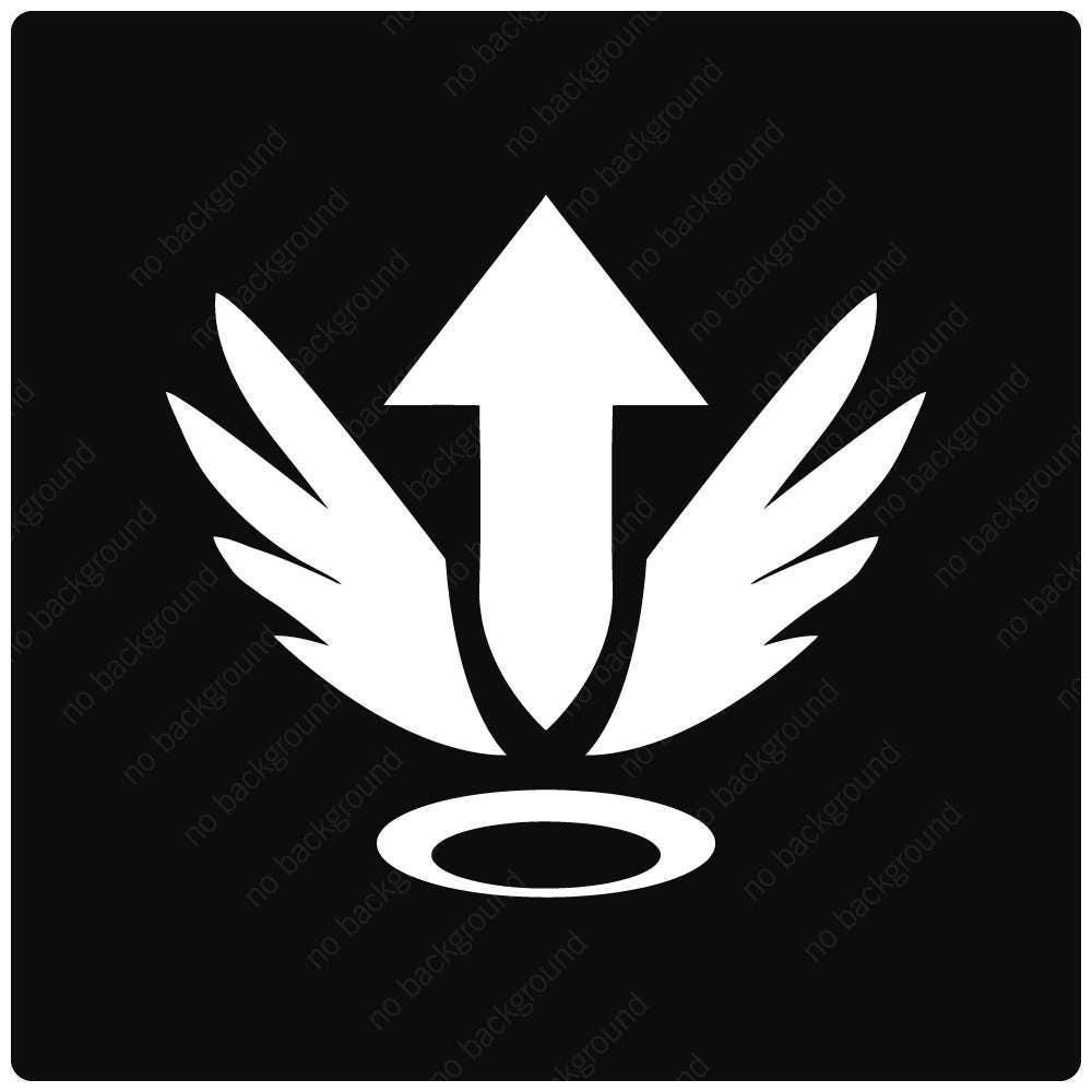 Mercy Overwatch Ultimate Rez Player Icon Logo Symbol Avatar