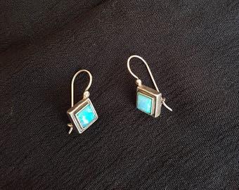 925 silver earrings opal gemstone