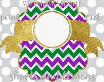 Mardi gras svg, Mardi Gras monogram, Jester, SVG, DXF, EPS, mask, beads, crown, file, jester hat, Louisiana svg, Fat Tuesday svg, Mardi Gras