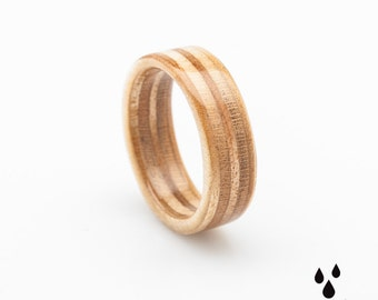 Recycled Wooden Ring
