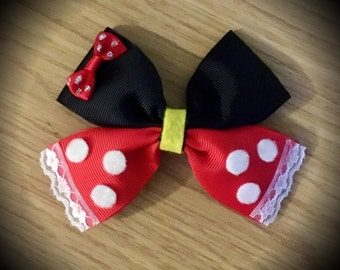 Minnie Mouse Disney Classic Hair Bow