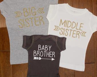 Big sister shirt, Big sister shirt, Little brother shirt, New Baby Shirt, big sister shirt, little sister shirt, big brother shirt,
