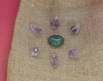 Amethyst Gridding Points - Crystal Healing Grid