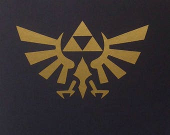 The Legend Of Zelda inspired Vinyl Sticker