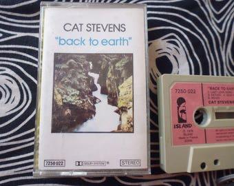 Cat Stevens Back To Earth Artwork