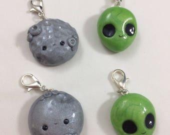 Kawaii Space Charms