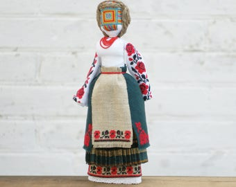 Motanka Ethnic Folk Traditional Handmade Ukrainian Doll Unique gift for her from EcoMotanka, OOAK