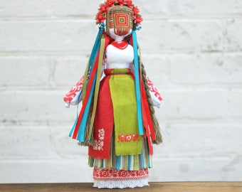 Motanka Handmade Ukrainian Ethnic Folk Traditional  Doll Unique decorative gift with meaning for her, Gift for Family, OOAK