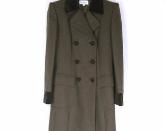 VALENTINO vintage Double button Chester coat