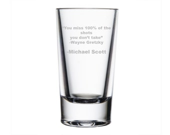 Michael Scott Quote, The Office-Tribute Drinkware/Barware