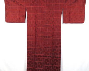 Vintage Japanese Kimono Rain Coat / Ama Coat