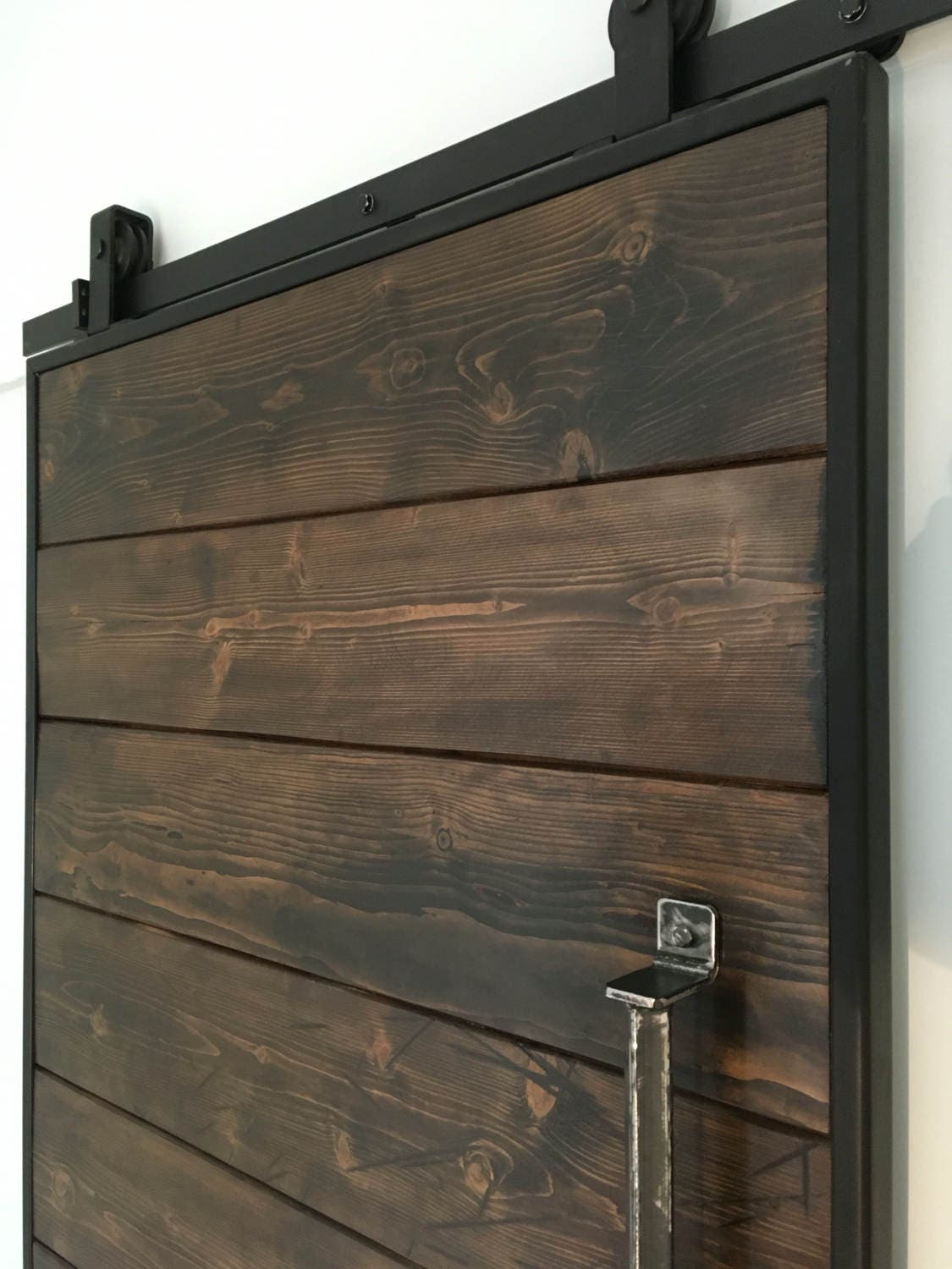 Sliding Barn Door Reclaimed Scaffold Sliding Barn Door