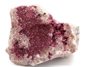 Pink Cobalt Calcite Crystals on Matrix – 371g