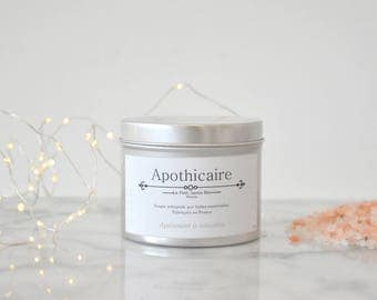Candle apothecary CALMING & RELAXATION