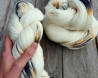 ORCHID Hand Dyed Yarn Worsted 10 ply on HARMONY 100% Superwash Merino Wool Australian Handdyed