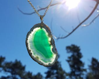 Gorgeous Green Agate