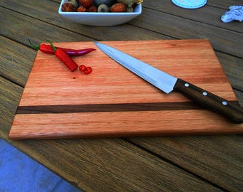 Cherry and Walnut Cutting / Serving Board