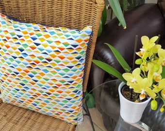 Handmade Decorative Origami Oasis Cushion Covers. Japanese Collection.