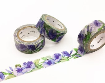 Morning Glory Washi Tape - Season's Color Series