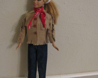 Barbie doll clothes-Western wear