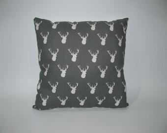 White deer cushion