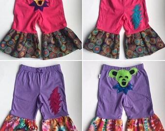 Custom grateful dead baby pants