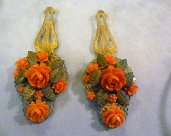 Pair of Vintage Dress Clips