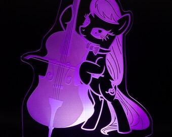 Octavia My Little Pony LED light display