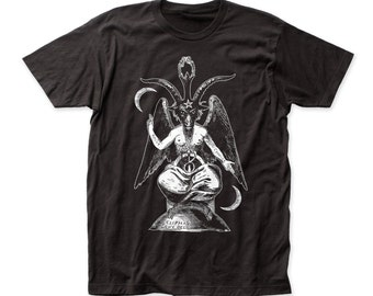 Impact Original Baphomet fitted soft fitted 30/1 jersey tee (IMP135) Black