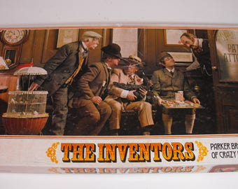 The Inventors Game by Parker Brothers 1974 - Complete   (975)