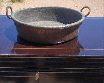 Vintage Copper pan/Large Copper pan
