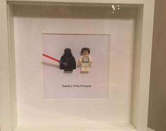 Star Wars Darth Vader and Princes Leia picture