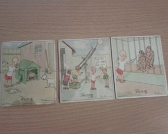 Henry tobacco cards - * further reduction*