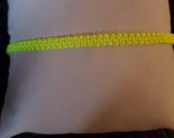 Brilliant yellow bracelet