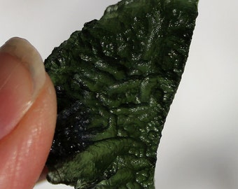 Moldavite Green Meteorite Stone Specimen