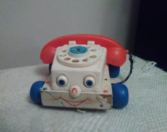 Vintage 1961 fisher price phone