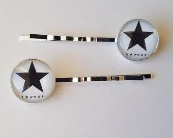 David Bowie Blackstar Bobby Pins