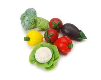 Miniature Assorted Vegetables, 7 Pieces