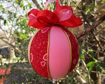 Valentine's Day Kimekomi Ornament