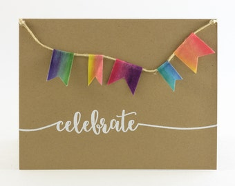 Rustic and Whimsical Embossed Birthday Cards - Celebration/Event Cards