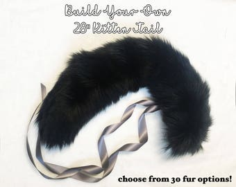 "Build Your Own 28"" Kitten Tail"