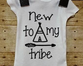 New to My Tribe Onesie
