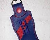 Gymnastics Key Chain - Leotard Bag Tag - Dance - Team Gift - Gym Bag Keychain - Softball Bag Tag - Tennis Bag Tag - Basketball Bag Tag