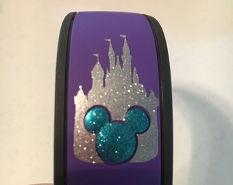 Magic Band Mickey Castle with Colored Mickey