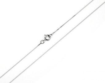 Sterling Silver Chain Upgrade - bracelets