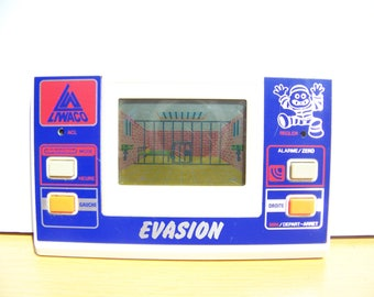 Vintage game electronic 80's - escape - LIWACO - /Electronic Game Watch