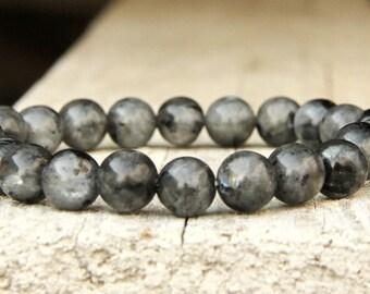 Mens gift mens bracelet Mens beaded Bracelet for him Gift for men Jewelry boho jewelry boho bracelet Labradorite bracelet