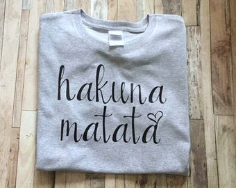 Hakuna Matata - Womens Shirt - Disney Trip Tank